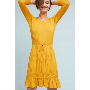 NWT ANTHROPOLOGIE Ingrid Tiered-Ruffle Dress